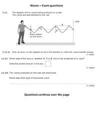 aqa p1 5 waves by wondercaliban teaching resources tes