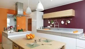 cuisine mur aubergine cuisine blanche mur aubergine 7 la couleur orange r233investit la