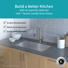 kraus kitchen sink combo kraus bathroom fixtures kraus apron