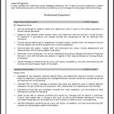 Experienced Nursing Resume Examples Resume Examples Objective For Registered Nurse Resume Areas Of