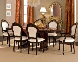 Italy Dining Table Classic Style Dining Set Made In Italy 33d491