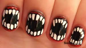 cool halloween nail art cool halloween nail art ideas hative