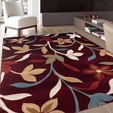 burgundy area rugs shop
