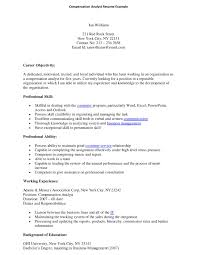 Pensation Analyst Resume Example     Pensation Analyst Resume With Elegant Cover Letter Financial Analyst Cover Letters