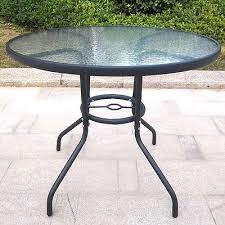 round glass outdoor table round glass garden table in bransholme east yorkshire gumtree