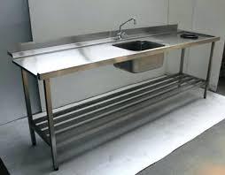 pied inox cuisine table inox cuisine table de laverie inox pied inox table cuisine