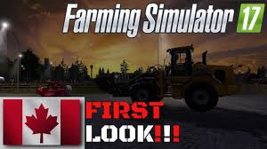 farming simulator 2017 canadian national map v3 first look