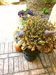 halloween flowers winter flowers on the front porch patina and paint