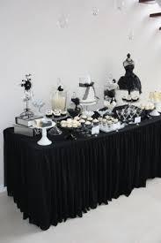 black buffet tables foter