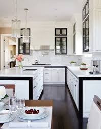 Pictures Of Kitchens With White Cabinets And Black Countertops Kitchens White Cabinets With Gold Trim Popideas Co