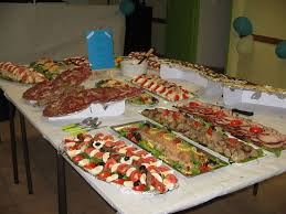 buffet mariage 53 best buffet froid images on buffets trays and