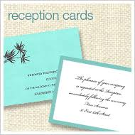 Reception Cards Party Invitation Essentials Collection Place Cards Menu Cards