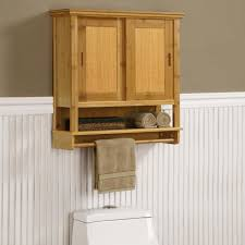 Bathroom Cabinet Organizers by Furniture Wall Mounted Natural Wooden Bathroom Cabinet Organizers