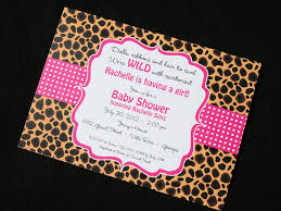 cheetah baby shower cheetah print invitations for baby shower bachelorette