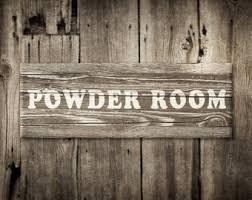 Powder Room Decor Powder Room Decor Etsy