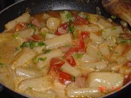 cuisiner salsifis recette salsifis au jambon et tomates 750g