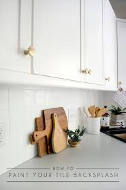 do you need a special paint for kitchen cabinets how to paint your tile backsplash brepurposed
