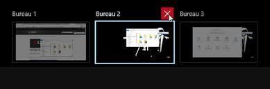 supprimer icone bureau utiliser les bureaux virtuels de windows 10