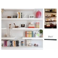ikea lack wall shelf 110x26cm black wall shelves urban sales