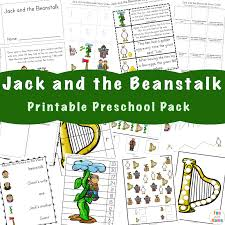 free jack and the beanstalk activities fun with mama