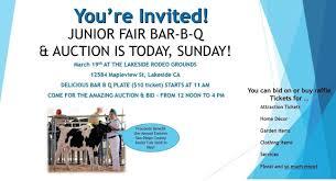 junior fair bar b q