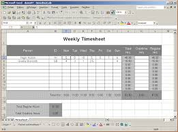Excel Template For Timesheet 5 Excel Timesheet Templates Timeline Template