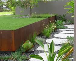 contemporary landscape architectire industrial style design ideas