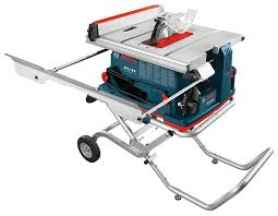 Job Site Table Saw New Bosch Reaxx Jobsite Portable Table Saw Mdr International