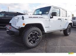 jeep rubicon white 2017 2017 bright white jeep wrangler unlimited rubicon hard rock 4x4