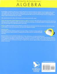 prealgebra and introductory algebra stephen goldberg