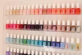 nail polish organization storage carly cristman
