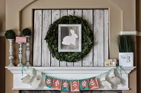 easter mantel decorations easter mantel decorating ideas interior design easter fireplace
