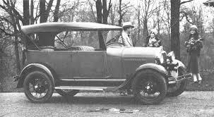 model a restorers club 1928 1929 open