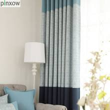Blue Plaid Curtains Buy Blue Plaid Curtains And Get Free Shipping On Aliexpress
