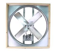 attic 36 inch belt drive whole house fan with shutter