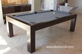 modern billiard table modern wooden dining pool table u2013 dk billiards pool table sales