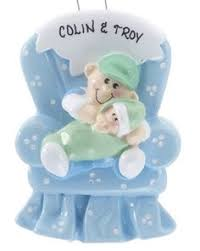 Custom Baby Ornaments Buy Big Sister Holding Little Sister Personalized Baby