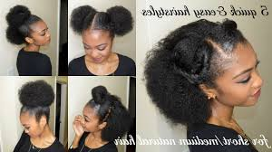 cute easy natural hairstyles fade haircut