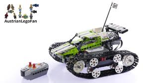 lego technic lego technic 42065 rc tracked racer lego speed build review