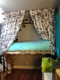 Pallet Bunk Bed Oh Yeah Easy I Can Make This Projects by Pallet Loft Bed U2026 Pinteres U2026