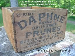 Wooden Ca by Daphne Brand Wood Box