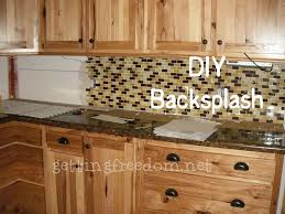 Self Adhesive Backsplash Tiles Hgtv Inside Kitchen Backsplash - Diy kitchen backsplash tile