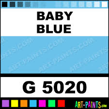 baby blue gold line spray paints g 5020 baby blue paint baby