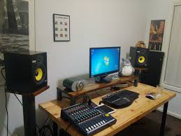 Studio Monitor Desk by Studio Monitor Stands And Screen Support