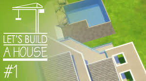 build a house the sims 4 let u0027s build a house part 1 in newcrest youtube