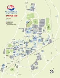 Show Me A Map Of Pennsylvania by Shippensburg University U2013 Visit The Campus U2013 Campus Maps