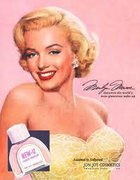 Westmore Cosmetics Marilyn U0027s Ads Beauty Bombshells