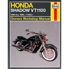 manual haynes for 1988 honda vt 1100 cj shadow ebay
