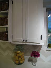 redo kitchen cabinet doors easypeasy grandma cabinet door redo she filled in the routed