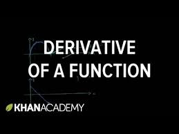 the graphical relationship between a function u0026 its derivative